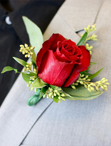 Rose Boutonniere 030A130-6401