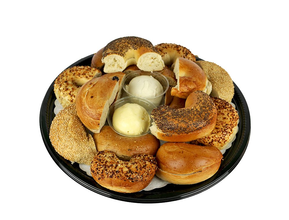 Bagel Tray with Cream Cheese and Whipped Butter 052A556-6750