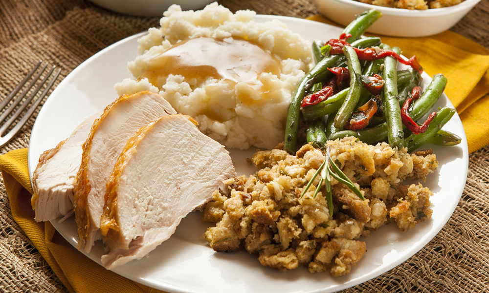 Complete Holiday Turkey Dinner