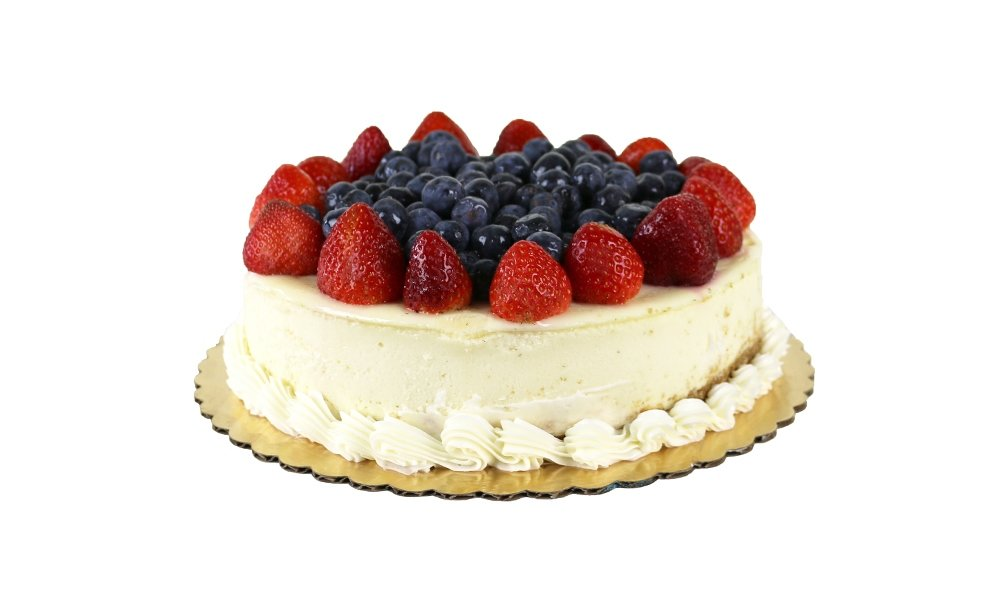 Fresh Fruit Topped Cheesecake