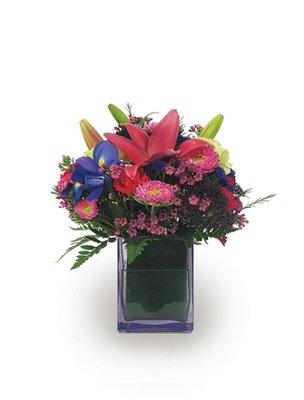 Classy Cube Bouquet