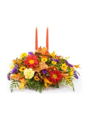 Gather Round Thanksgiving Centerpiece