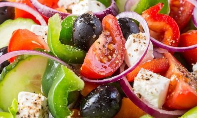 Greek Vegetable Salad (per lb)
