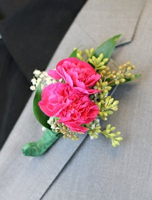 Miniature Carnation Boutonniere