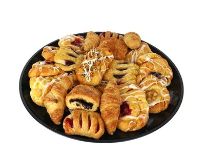 Mini Breakfast Pastry Tray