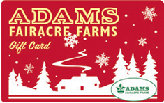 Adams Gift Card (Winter) 010A044-6408