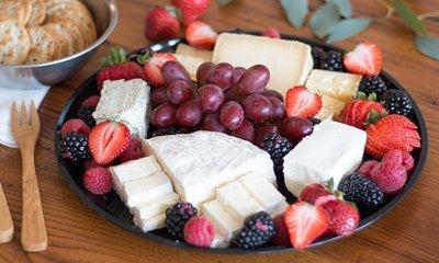 Local Artisanal Farmstand Cheese Platter