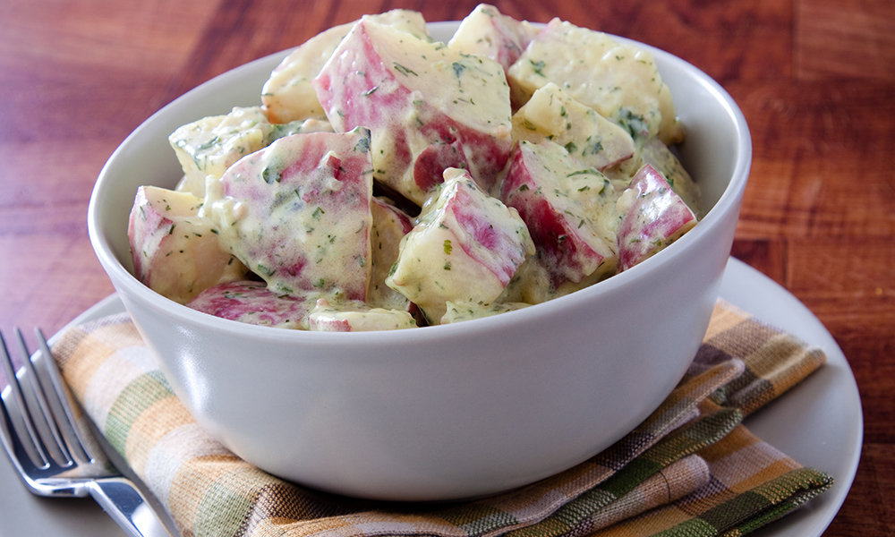 Red Skin Potato Salad with Dill (per lb)