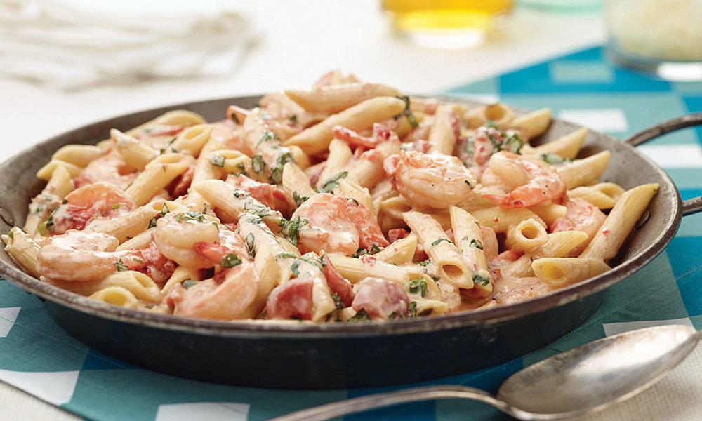 Creamy Seafood Pasta Bake 064A084-6914
