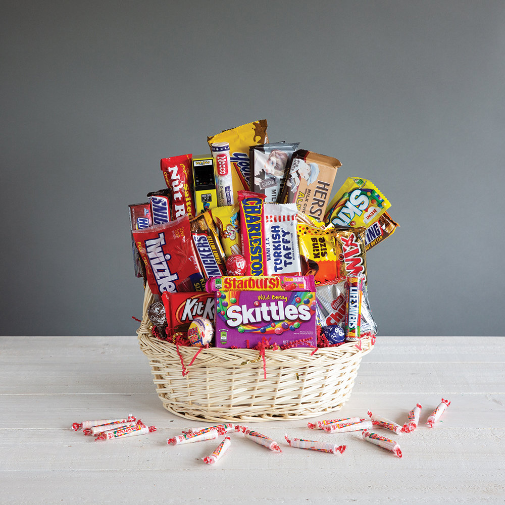 Candy Lover's Basket 040A51