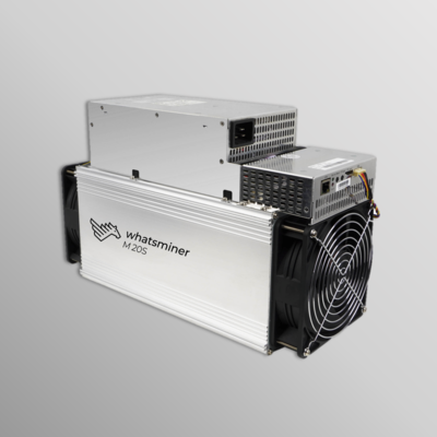 Whatsminer M20S 65Th/s PSU included (Spots)