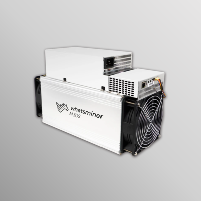 Whatsminer M30S 86Th/s PSU included (Spots)