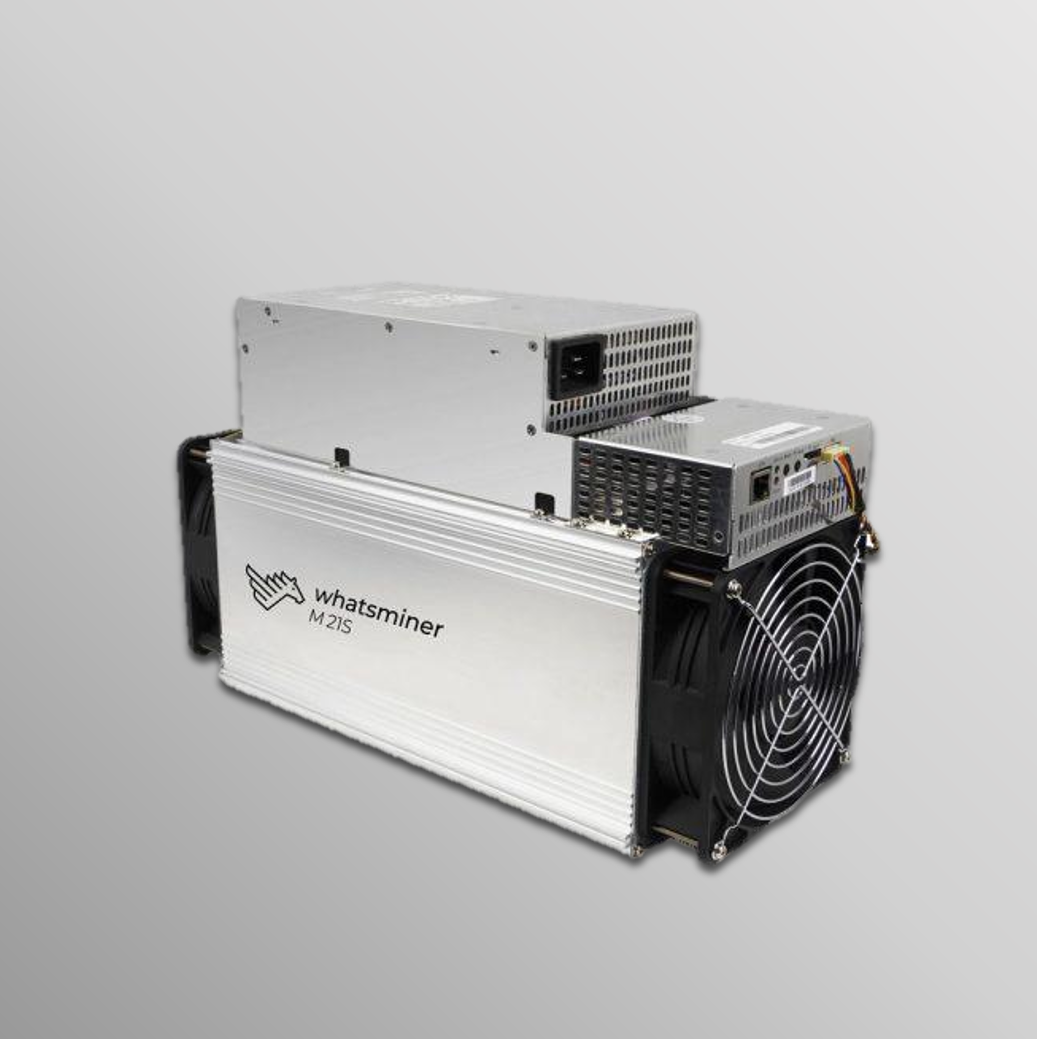 Whatsminer M21S 58Th/s PSU included (Spots)