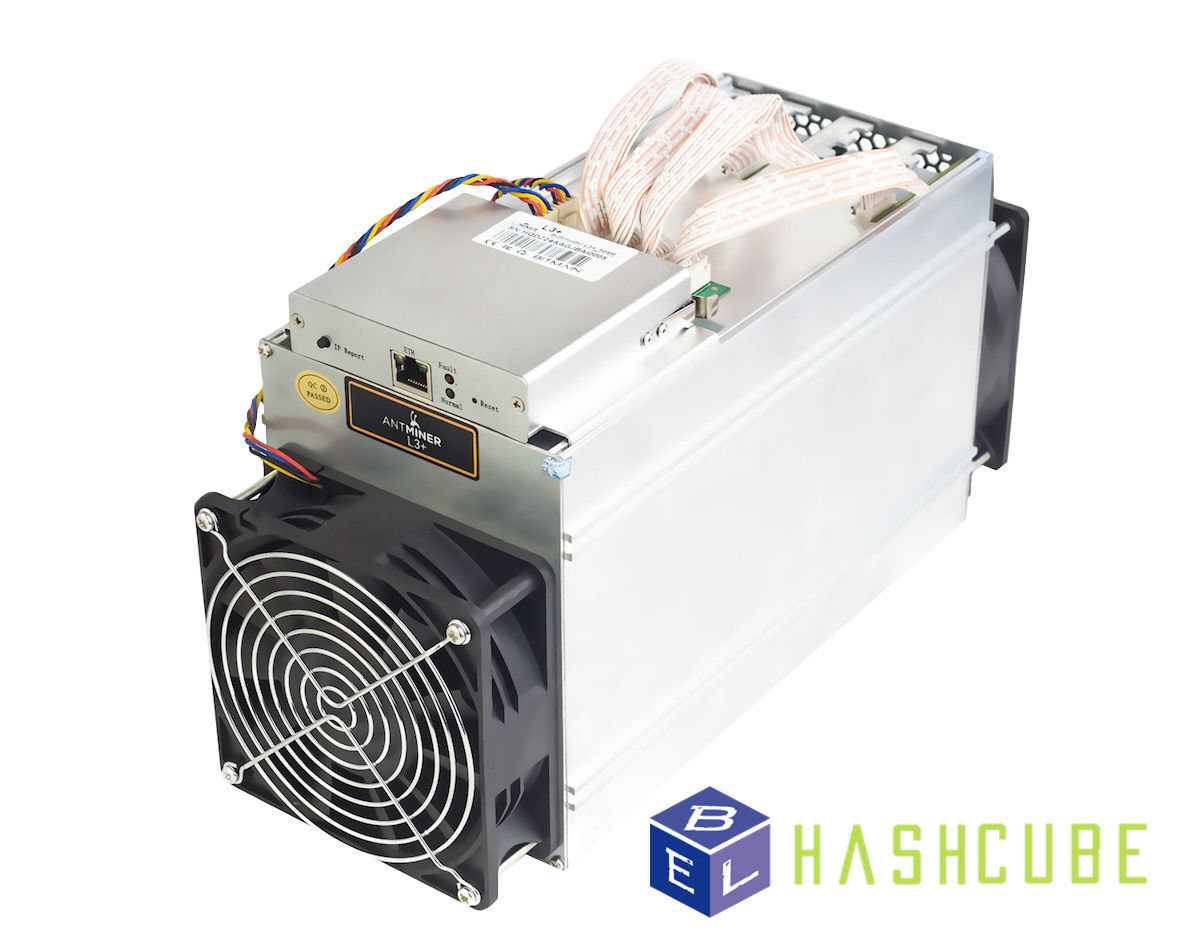 Antminer L3+ 580MH/s ASIC Litecoin Miner (Pre-owned)