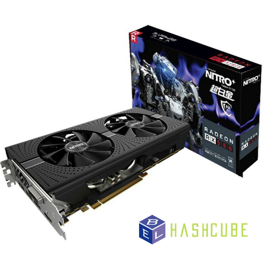 GPU Sapphire RX580 8GB Nitro