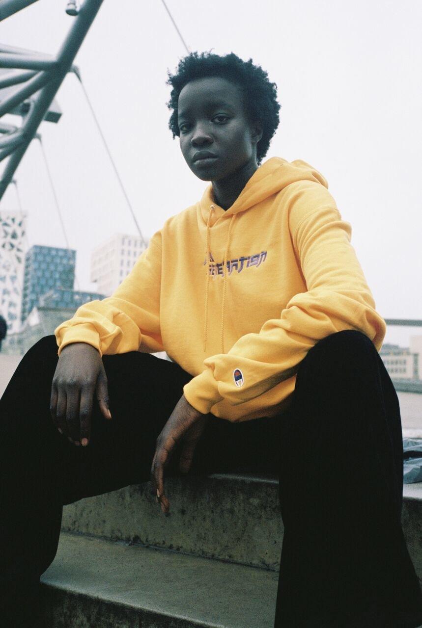 New Generation hoodie // Mustard