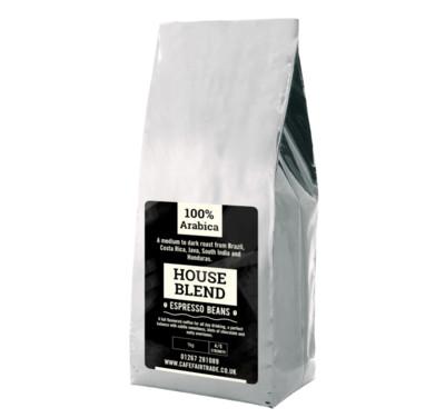 House Blend Espresso Beans (6 X 1kg)