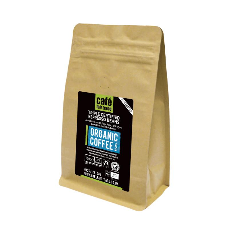 Organic Espresso Beans (12 X 500g)