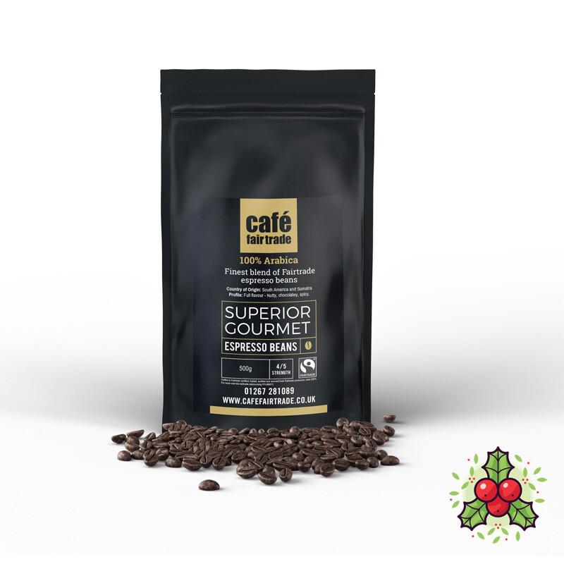 Superior Gourmet Espresso Beans (12 X 500g)