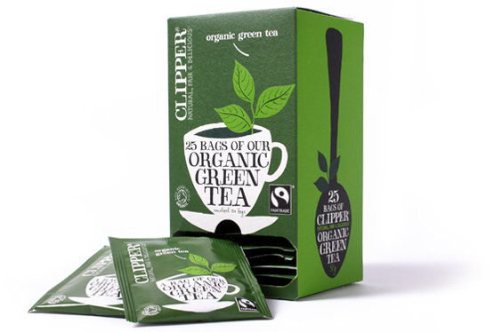 Clipper Organic Green Envelope (25 X 6)
