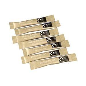 Fairtrade Brown Sugar Sticks (1 X 1000)