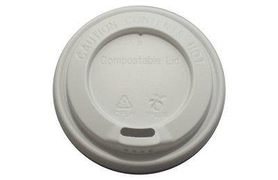 Compostable Lids 12 oz cup (1 X 1000)