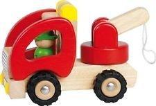 Gioco educativo - giocattolo in legno - Carro attrezzi