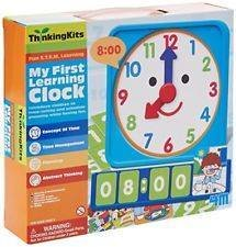 """MY FIRST LEARNING CLOCK"""
