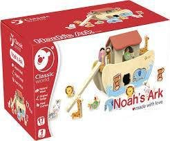 NOAH'S ARK - ARCA DI NOE' in legno - Classic World -