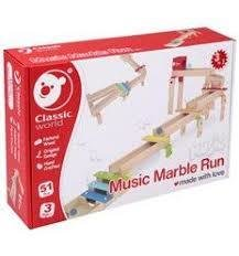 MUSIC MARBLE RUN in legno - Classic World -