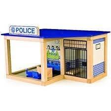 POLICE STATION IN LEGNO Tidlo