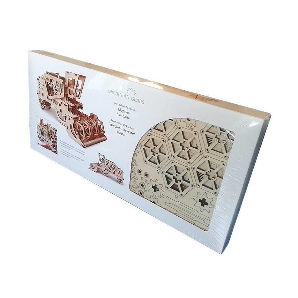 MIETITREBBIA kit meccanico di Ugears: modello meccanico modulare semovente, puzzle in l