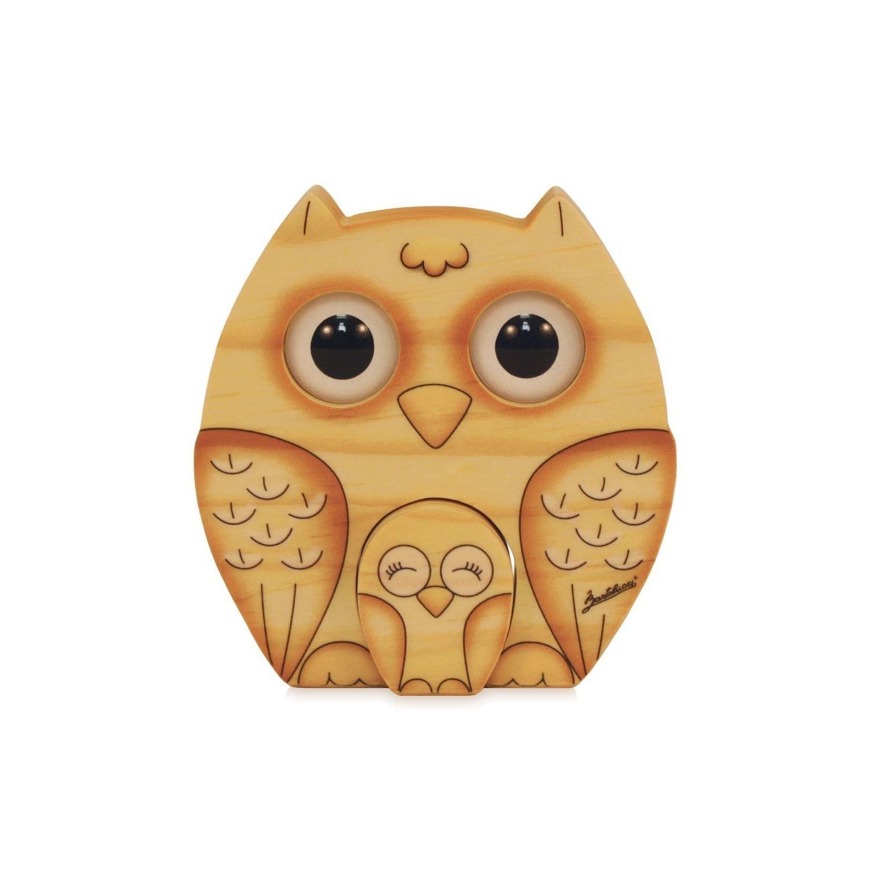 GUFO - BARTOLUCCI - ANIMALI OCCHI 3D