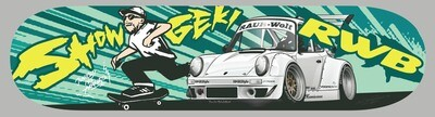 RWB x Showgeki Skate Board DECK