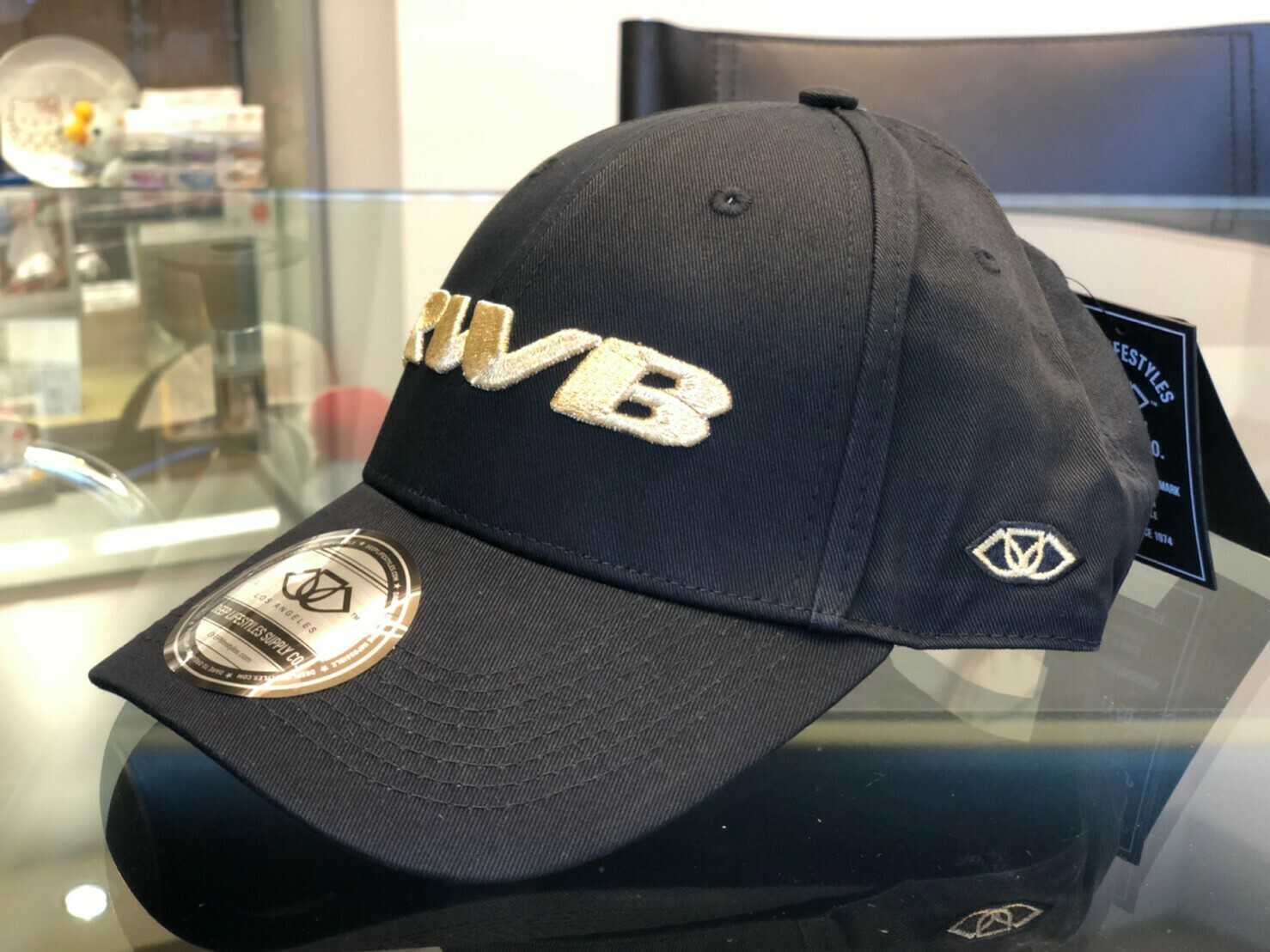 DEEP×RWB Polo Cap (Gold)