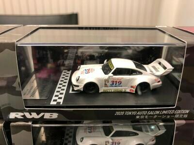 RWB 1/64 model car idlers (White) 2020 Tokyo Auto Salon Limited Edition