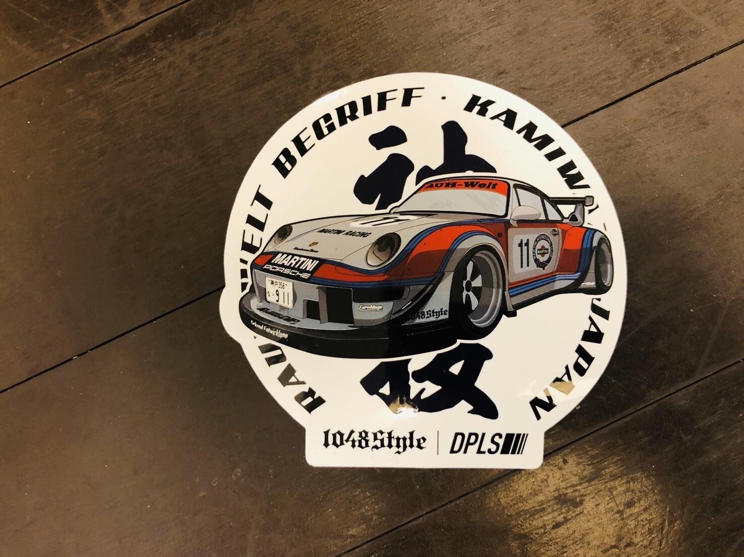 DEEP×RWB Maritini Sticker