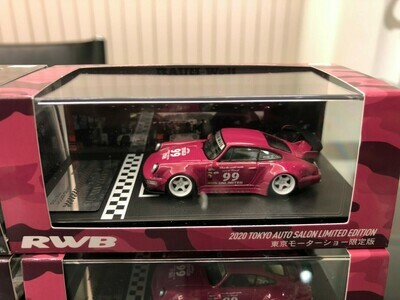 RWB 1/64 model car idlers (Purple) 2020 Tokyo Auto Salon Limited Edition