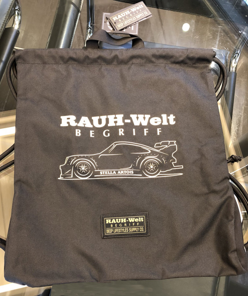 DEEP×RWB Premium Drawstring Bag