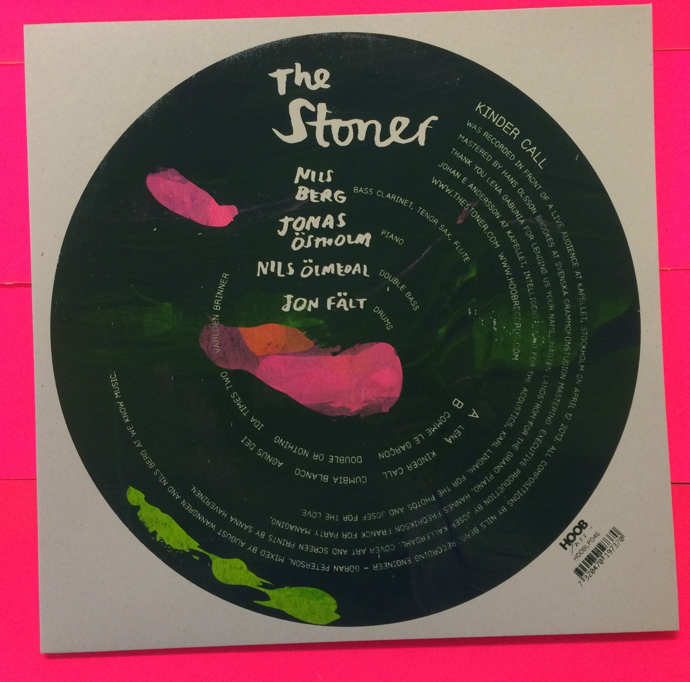 "The Stoner - ""Kinder Call"" LP 00006"