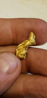 3.82 gram longer gold nugget