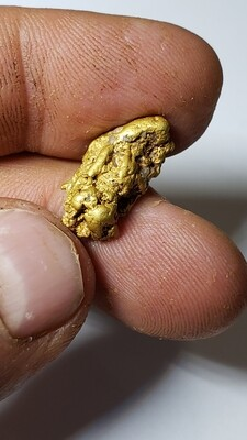 5.44 gram chunky gold nugget