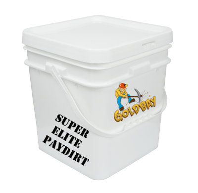 Goldbay Super Elite 2 gallon paydirt with 31 grams gold