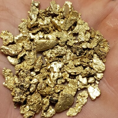 Flash sale - One troy ounce of mixed Idaho gold nuggets