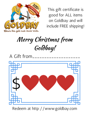 Goldbay Gift Certificate