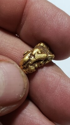 Gold nugget from Idaho. 4.48 grams For SALE