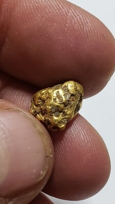 Gold nugget from Idaho. 3.34 grams For SALE