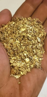 Mixed gold nuggets