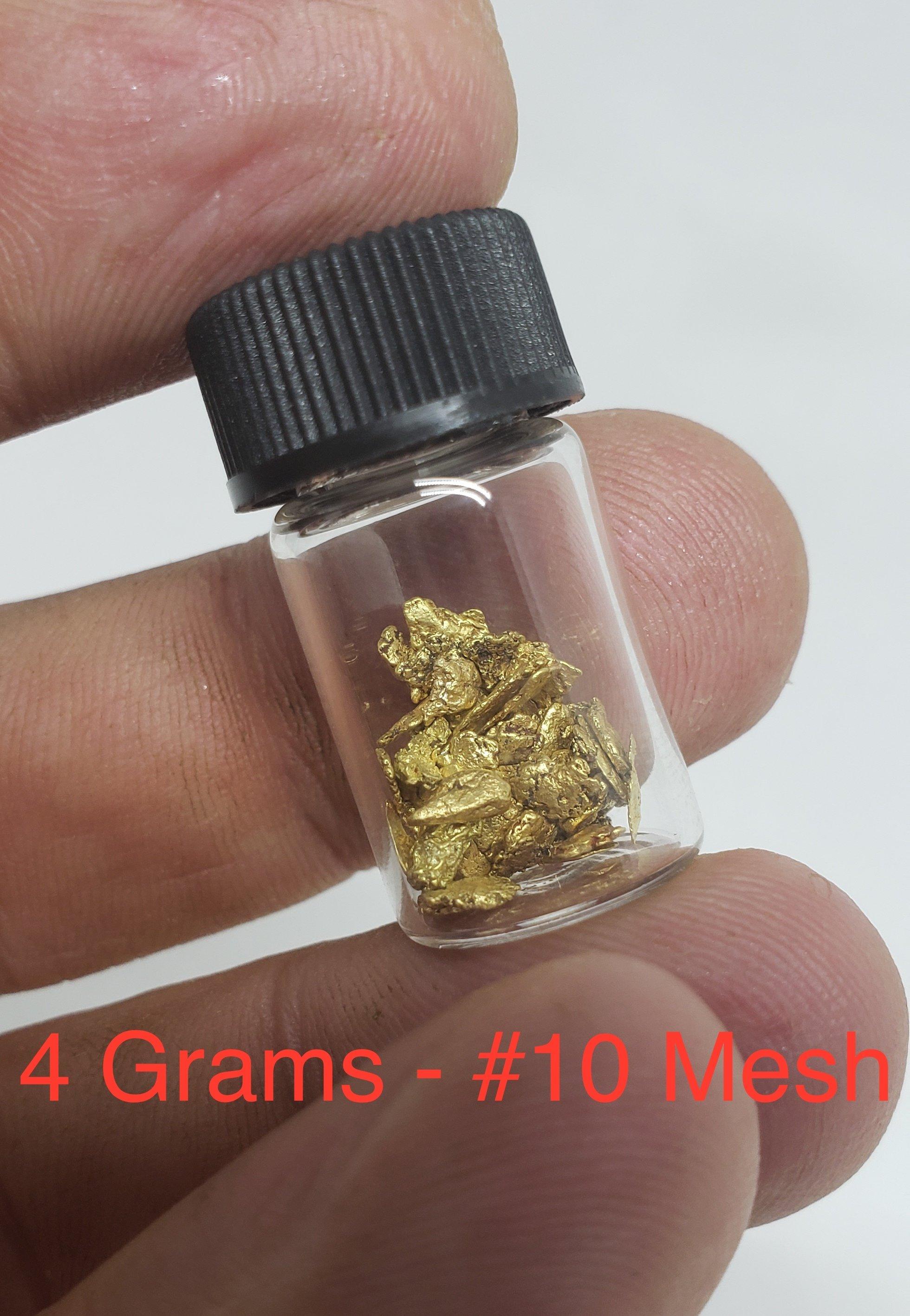4 grams #10 mesh