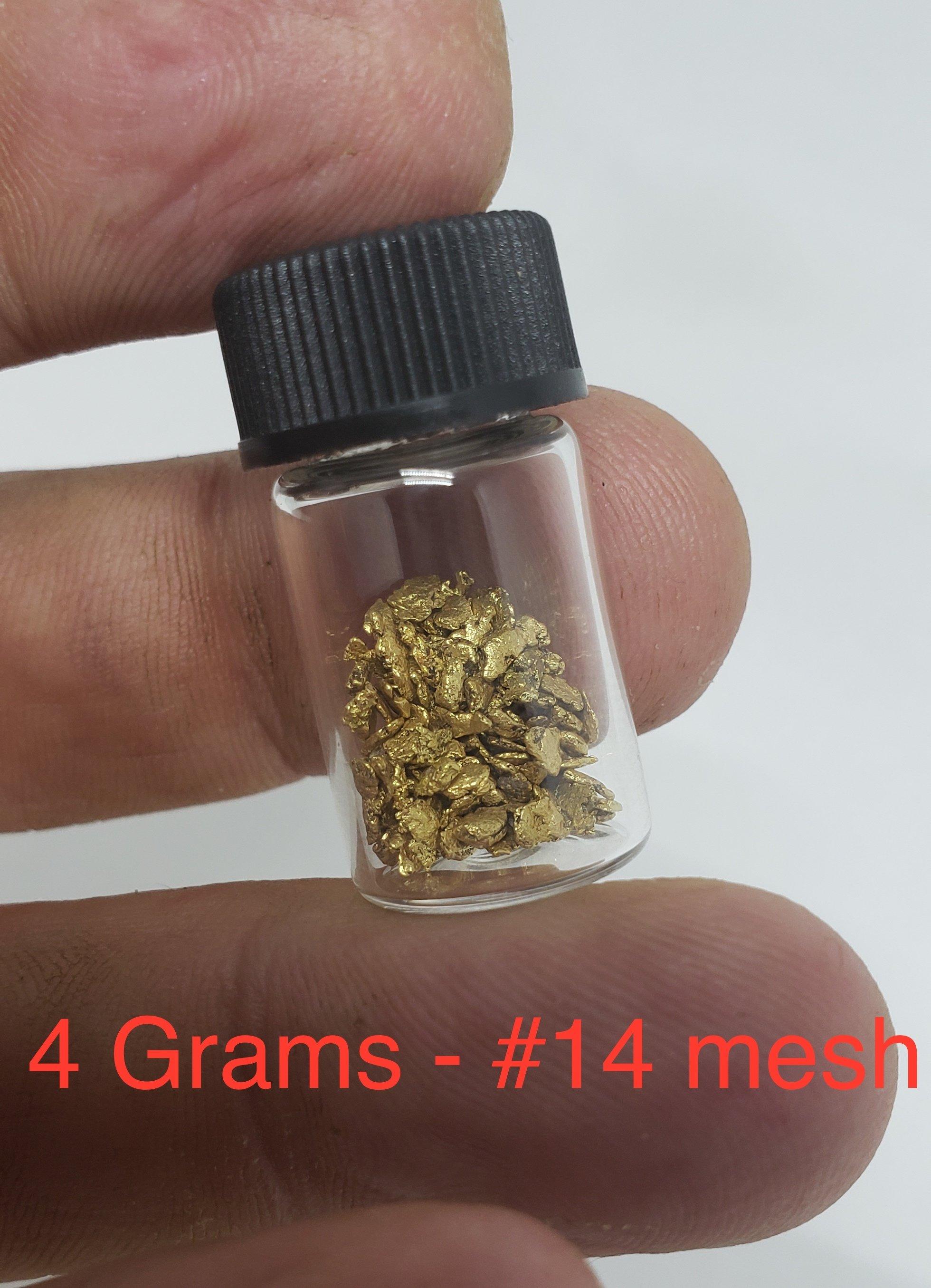 4 grams #14 mesh
